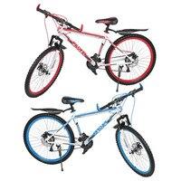 新しい26インチ× 17インチフロントとリアディスクバイク30サークルマウンテンバイク可変速度mtbロードレース自転車良い品