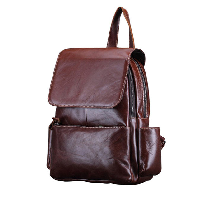 Wax Leather Backpack