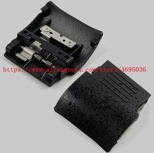 Cubierta de la puerta de la Cámara de la tarjeta de memoria SD para Nikon D90 con resorte y cámara de placa de Metal, novedad