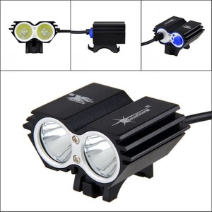 Image 5 - Waterproof USB Bike Light 8000LM 2 X T6 LED Front Bicycle Headlight Dual Lamps for Cycling No Battery