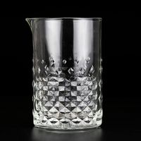 lead free Crystal glass mixing cups mixing glass Shaker bottles cup