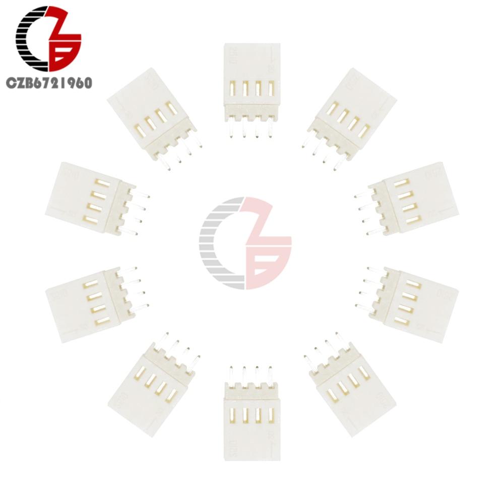 10PCS 4Pin KF2510-4P KF2510 4P 2.54mm Pitch Terminal Housing Header Connectors Adaptor DIY Kits