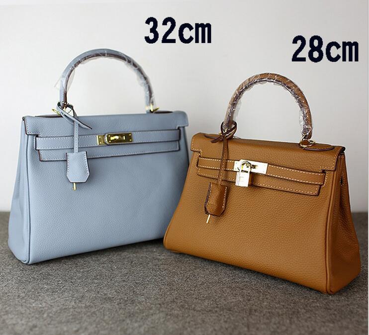 ФОТО high quality Fashion Genuine leather ladies brand double zipper bag Famous Designers tote shoulder bag women handbags female