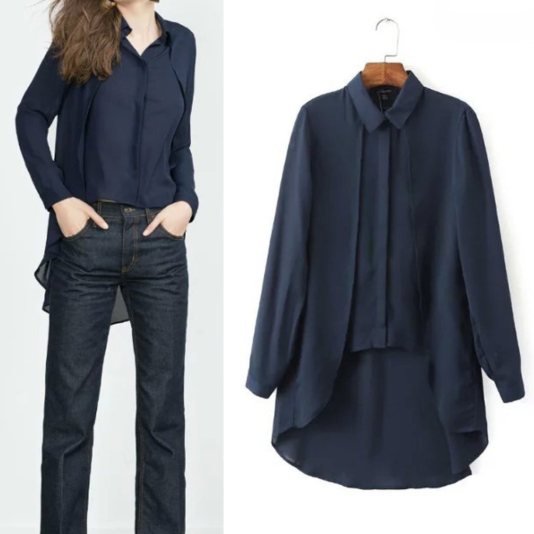 Compare Prices on Navy Blue Blouse- Online Shopping/Buy Low Price ...