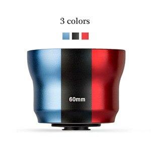 Image 1 - 思鋭 60 ミリメートル肖像スマートフォンlentille auxiliaire携帯レンズ外部高精細一眼レフミラーセットユニバーサル携帯電話レンズ