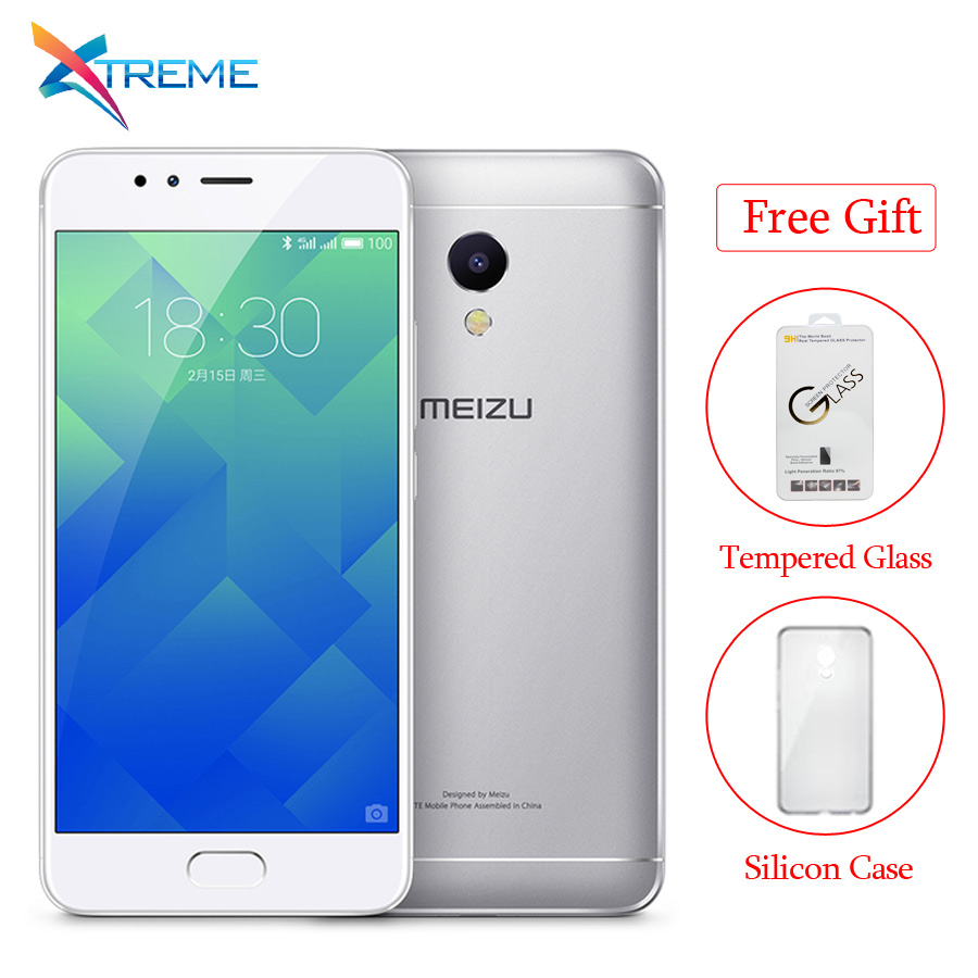 "bilder für International Version Ursprüngliche Meizu M5S 4G LTE MTK6753 Octa-core 3 GB RAM 16 GB ROM 5,2 ""1280x720 13.0MP Quick Charge Fingerabdruck"