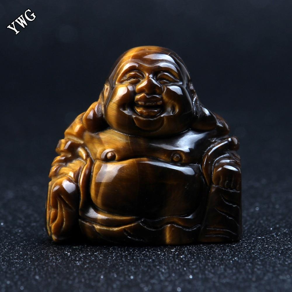Opalite Buda de piedra natural tallada 1.5 pulgadas aventurina verde Maitreya Figurita Chakra Curación Cuarzo Reiki Bolsa gratis
