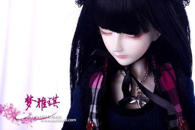 [wamami] AOD Mini 1/4 BJD Dollfie Girl Set* FREE FACE UP/EYES/~Meng Ya Qi [wamami] aod 1 3 bjd dollfie girl set free face up eyes fan