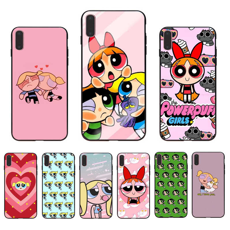 IMIDO Cute The Powerpuff Girls  Cell phones case For Iphone 6 6S 6PLUS 6SPLUS 7 8 7PLUS 8PLUS X XS XR XSMAX 5 5S SE