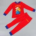 Invierno Babys Camisones de Algodón Pijamas Niños Niñas Niños ropa de Bebé Ropa Interior hijos establece pijama niños regalos de navidad