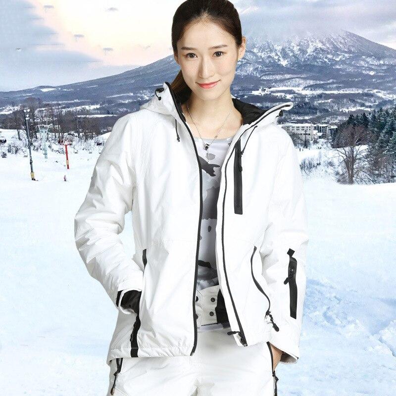 2018 nouveau imperméable coupe-vent randonnée camping en plein air femmes veste vêtements d'hiver vêtements d'extérieur ski snowboard veste femme