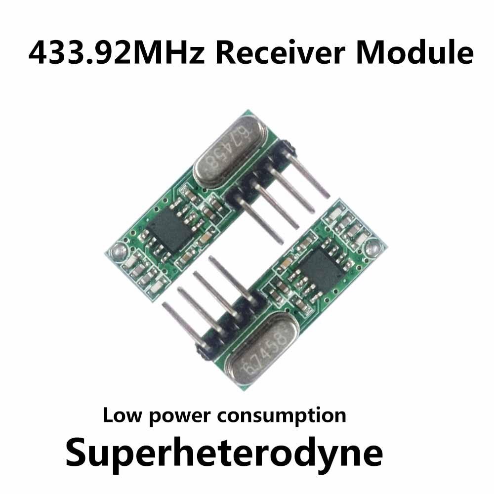 buy 433 mhz rf receiver superheterodyne 433mhz uhf ask remote control module. Black Bedroom Furniture Sets. Home Design Ideas