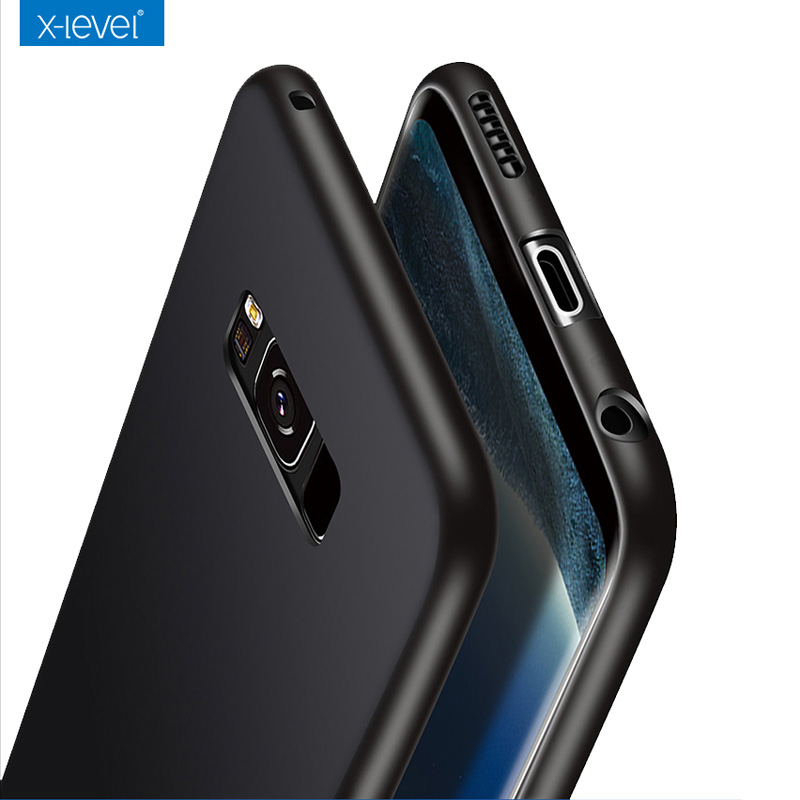 Luxury Case For Samsung Galaxy S8 S8 Plus Back Cover X Level Slim Hard PC Case