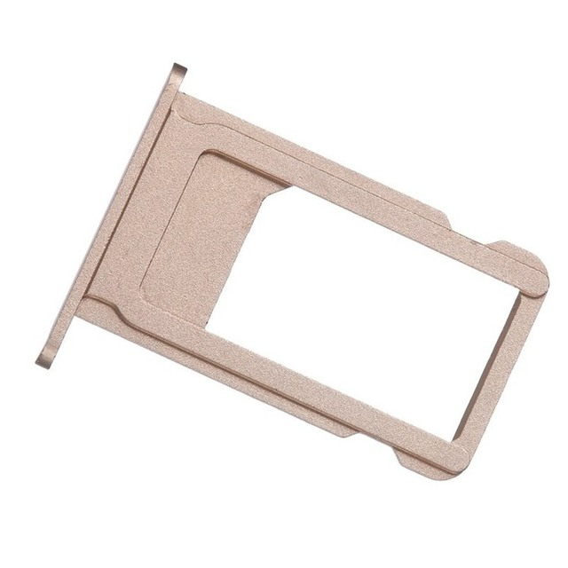 huge discount 796f9 88393 US $0.01 |SIM Card Tray Holder Slot Replacement Adapter for iPhone 6S 6 S  4.7 inch Repair Parts Rose Gold Gray Silver Mobile Accessories-in SIM Card  ...
