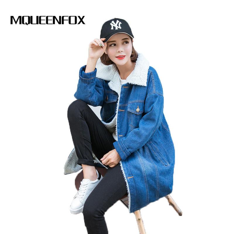 Popular Women Denim Winter Coat-Buy Cheap Women Denim Winter Coat ...