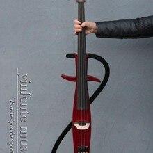 4/4 violoncello черная электрическая Виолончель из цельного дерева чудесная звуковая сумка с бантом Yinfente