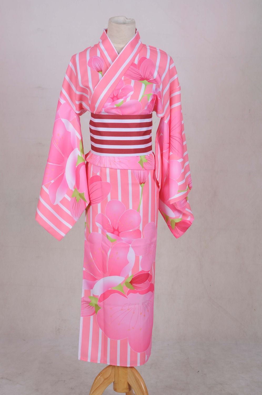 ⃝Anime LoveLive! Unawaken Minami Kotori Kimono Yukata Halloween ...