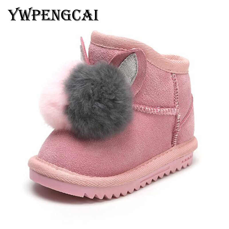 0ac133e184 Detail Feedback Questions about Baby warm winter boots natural ...