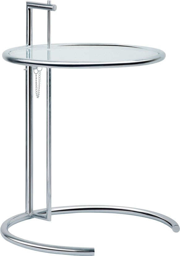 Best Eileen Gray Side Table With Tempered Glass Top Glass Side Table Eileen  Gray End Table With Eileen Grey Tisch
