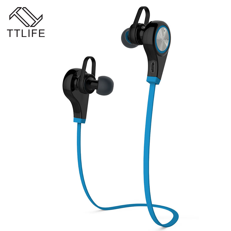 TTLIFE Bluetooth Earphone Wireless Sports Headphones In ear Headset Running Music Stereo Earbuds Handsfree with Mic for Phones ttlife bluetooth earphone