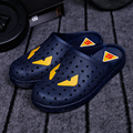 new 2016 men slip on summer clogs shoes garden sandals beach slippers walk shoes plus size 39-45
