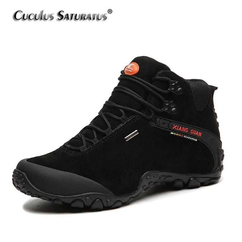 XIANG GUAN Free Shipping Hiking Shoes Outdoor Sports Boots Trekking Shoes Waterproof Mountain Climbing Shoes For MenWomen 82287