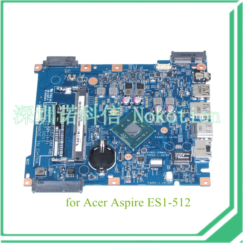 448.03707.0011 NBMRW11003 NB.MRW11.003 For acer aspire ES1-512 motherboard N2940 CPU warranty 60 days
