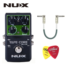 NUX Tape Core Deluxe Echo Effect Pedal, 7 Models Delay Effects True Bypass Guitar Effect Pedal for Guitar Bass - Lightwish