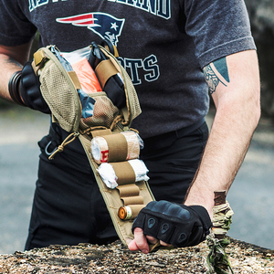 Image 2 - OneTigris Sơ Cứu Chấn Thương Bộ Y Tế Nhanh Chóng Tháo Rời EMT/Sơ Túi Chiến Thuật Cordura Nylon Multicam Chấn Thương Túi túi