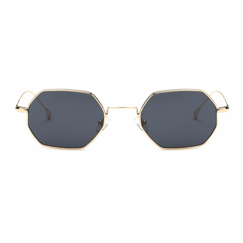 AEVOGUE Sonnenbrille Für Männer / Frauen Kleines Rechteck Legierung - Bekleidungszubehör - Foto 4