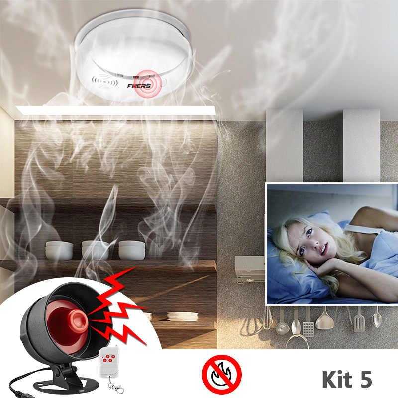 Kerui DIY 100dB Lokal Nirkabel Alarm Sistem Keamanan Rumah Sirene Speaker Pencuri Inframerah Detector Alarm Pintu Sensor Alarm Kit