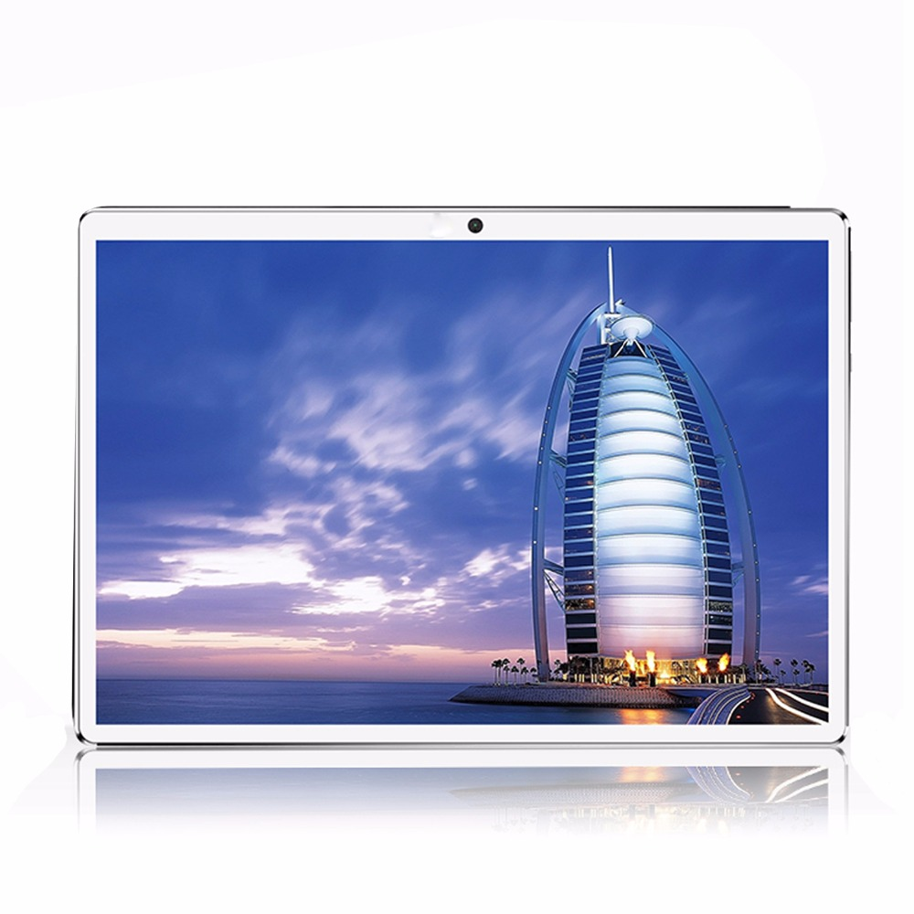 цена на Tablet 10 4G LTE Android 7.0 Octa Core RAM 4GB ROM 32GB Dual SIM Cards tablets 1920*1200 IPS HD 10.1 inch Tablet PCs+case Gifs