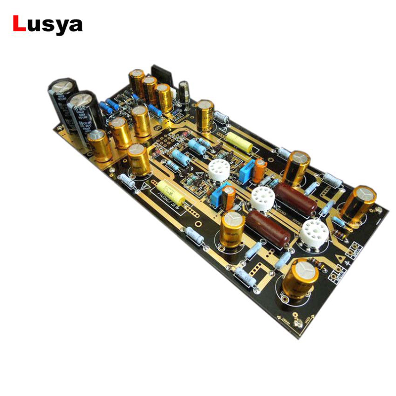 DIY MM RIAA Turntables Ear834 Tube Phono Amplifier Kit 12AX7/ECC83 For Audio HiFi with Capacitance Free Shipping D4-006 douk audio united kingdom ear834 mm riaa tube phono amplifier stereo amp diy kit audio hifi free shipping