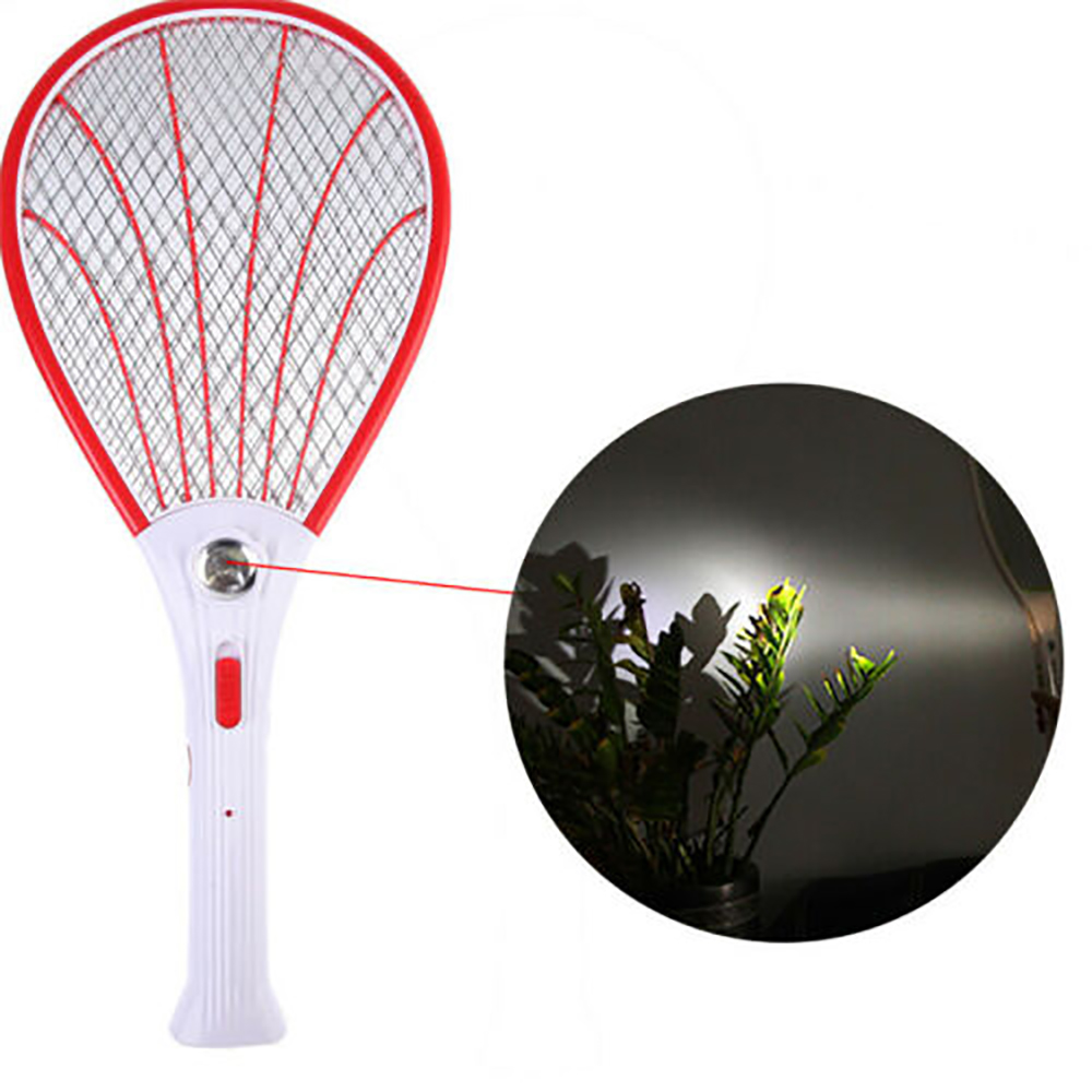 Electric Mosquito Bat Handheld Mosquito Killer Swatter Racket  Insect Fly Bug Zapper Pest Control Products