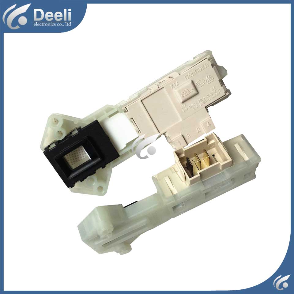 1pcs NEW for washing machine door switch WD-N10310D WD-N10300DT WD-N10300DJ door interlock switch original new for lg drum washing machine door hinge 42741701 1pcs