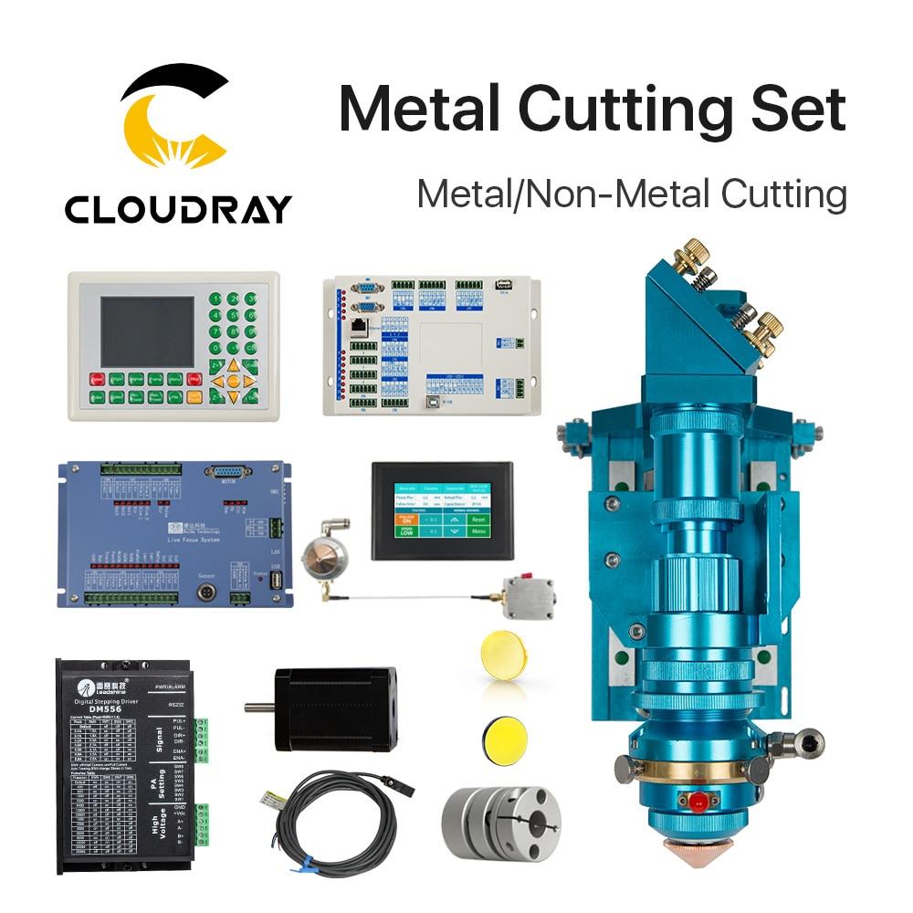 Ruida Metal Cutting Set CO2 Laser 150-500W Metal Non-Metal Hybrid Auto Focus For Laser Cutting Machine