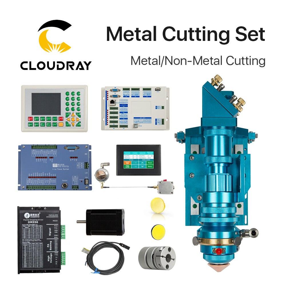 Ruida Metallo Set di Taglio Laser CO2 150-500 W Metallo Non Metallo Ibrido Messa A Fuoco Automatica per Taglio Laser macchina