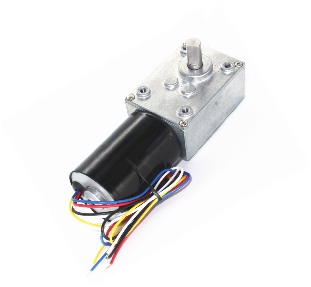 12v 24v dc brushless worm gear motor brushless motor for Geared brushless dc motor
