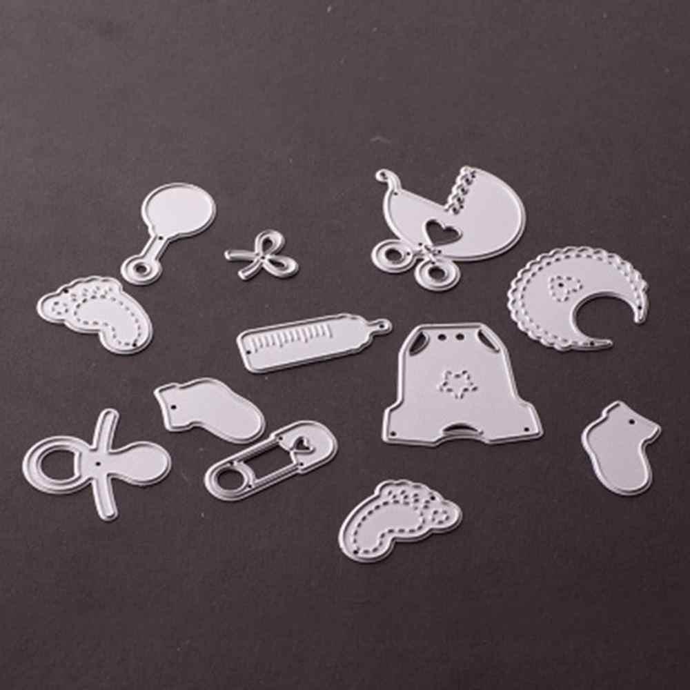 EXCEART Troqueles de Corte en Forma de Coche Diy Scrapbook Suministros Troquelados de Metal para Hacer Tarjetas de Papel en Relieve Decoraci/ón de Arte Artesanal de Navidad