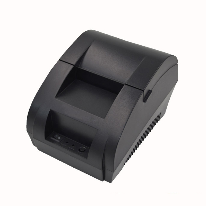 Original 5890k Thermal Printer ZJ-5890K label Printer Thermal Receipt Printer Ticket POS USB Interface Restaurant Bill payment