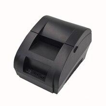 Оригинальный 5890 К Термальность принтер ZJ-5890K принтер этикеток Термальность получение билетов ККМ USB Интерфейс Ресторан оплата счета