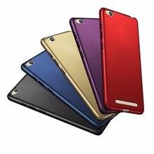 Dla Xiaomi Redmi 3 przypadku 5.0 cal Redmi3 tylna pokrywa luksusowe Ultra cienkie twarde plastikowe etui na telefon Xiaomi Hongmi Redmi 3 Capa Funda