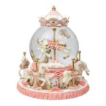 For Girlfriend Caixinha De Spieluhr La Land Carrusel Musicale Snow Globe Carousel Musica Boite A Musique Caja Musical Music Box