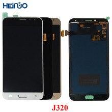 Для Samsung Galaxy J3 2016 J320 J320F J320M J320FN ЖК-дисплей Дисплей Сенсорный экран Pantalla дигитайзер Ассамблеи монитора на замену