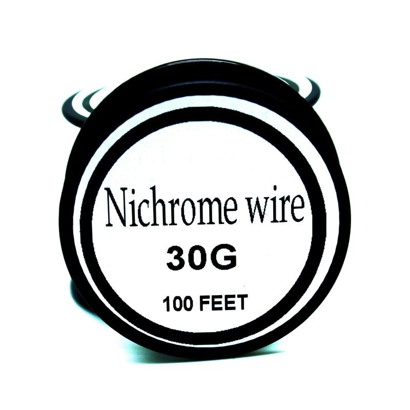 Nichromdraht 30 gauge 100 ft 0,25mm cantal widerstand widerstand awg ...