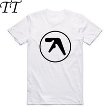 e4c1e911f8400 2017 Men And Women Print Aphex twin T Shirt O-Neck Short Sleeve Summer  Casual Popular Music Band Aerosmith T-shirt HCP934