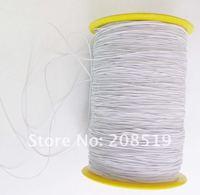 хрень эластичный шнур диаметр 0.5 мм 550 двор белого цвета Pro Stroke ювелирных нахождения аксессуары одежда
