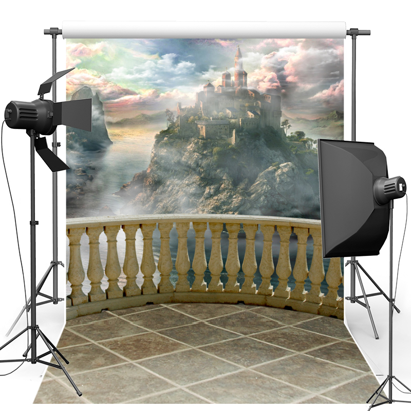 Castle For Children Vinyl Photography Background Fantasy Oxford Photography Backdrop For Photo Studio Props F1664 backdrop baby 6 5x10ft 200x300cm prince castle vintage castle vinyl backdrop