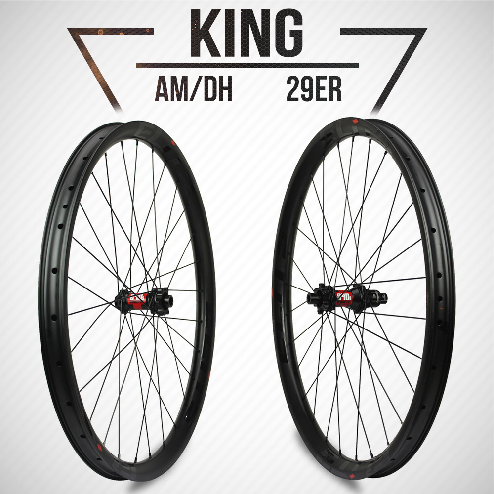 ELITE DT Swiss 240 Series MTB Wheelset 40mm Width 32mm Depth Carbon Fiber Rim For 29er AM / DH / Enduro Mountain Bike Wheel стоимость