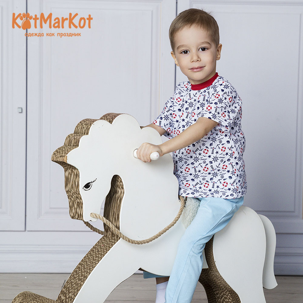 Фото - T-Shirts Kotmarkot 7093  for children t-short Jersey tee shirt baby clothes Cotton cat sotmarket Baby Boys Casual Print men halloween print tee